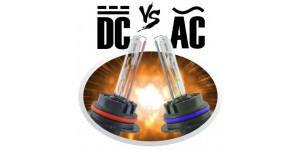 Различие ксенона AC и DC.