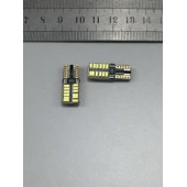 Лампа LED T10 24 SMD Can Bus