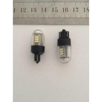 Лампа LED T10 12 SMD 3014