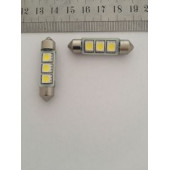 Лампа LED 211 3 SMD Can Bus 39 mm.