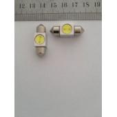 Лампа LED 211 1W  31 mm.