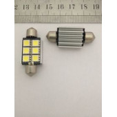 Лампа LED 211 6 SMD Can Bus 39 mm.